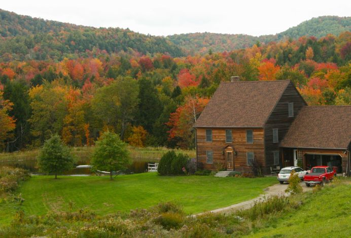 Residential Real Estate in Autumn