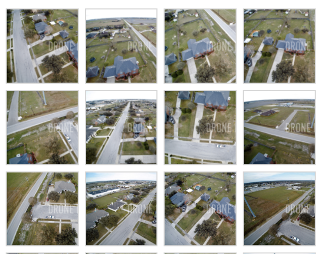 Aerial Images with framing issues