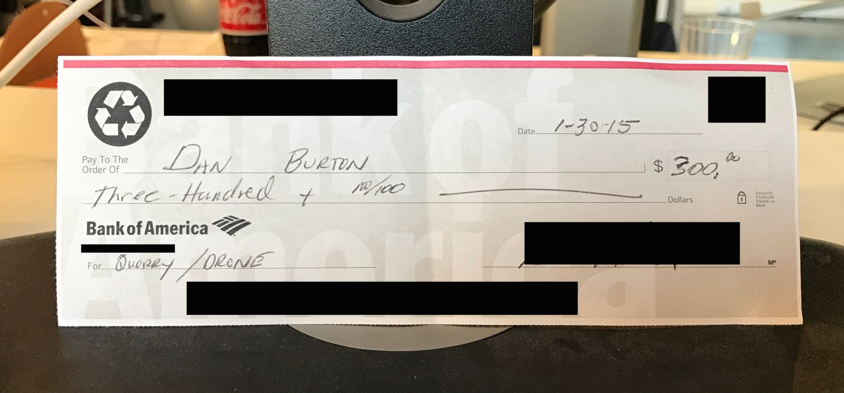 DroneBase's First check