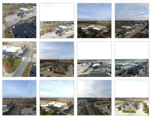 Aerial Images with varied exposure